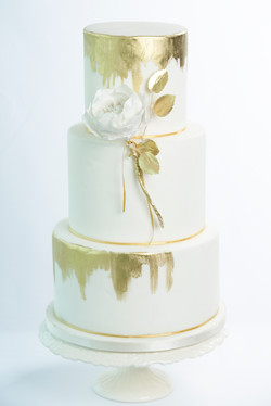 Single Rose bruidstaart - Cake Affair