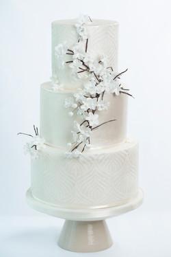 Springtime bruidstaart - taart huwelijk