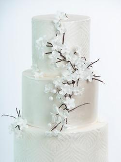 Springtime bruidstaart - Cake Affair