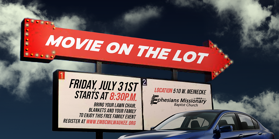 Movie On The Parking Lot
