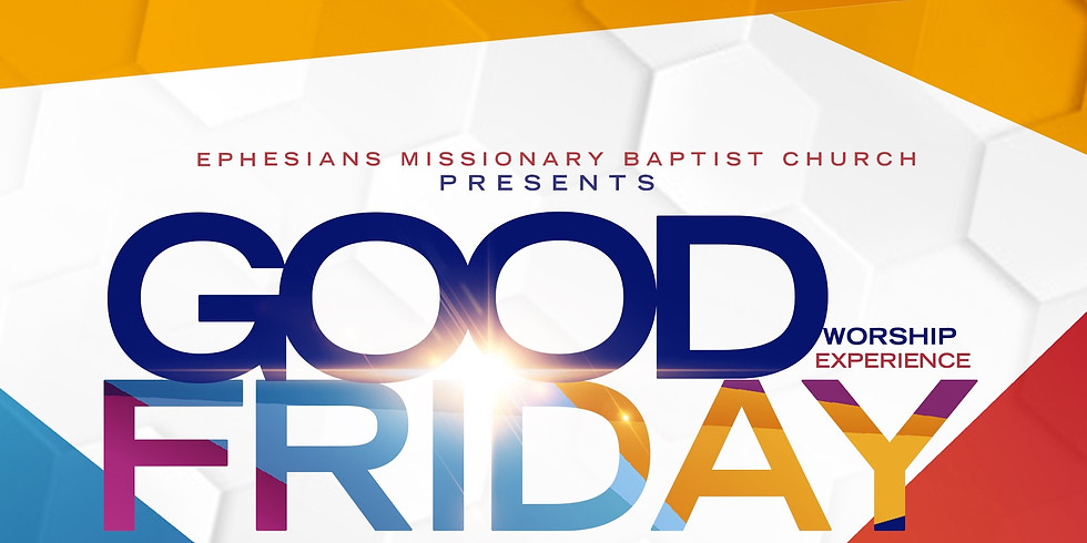 Good Friday Worship Experience
