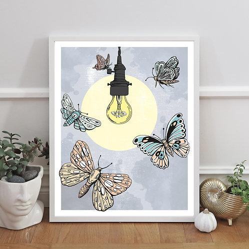 Fjärilarna & lampan