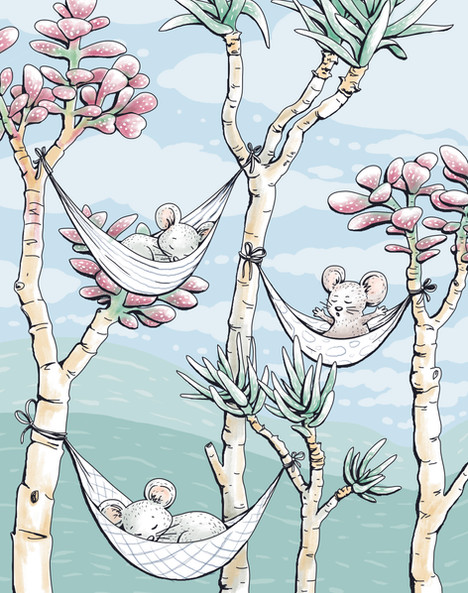 Mössen i hängmattorna