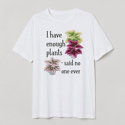 """T-shirt """"Said no one"""""""