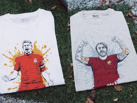 T-shirt tryck åt Nakata