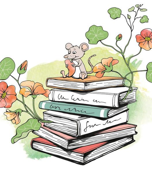Krasse och böckerna