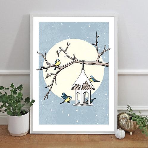 Småfåglar vinter