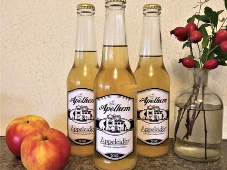 Etiketter till äppelcider