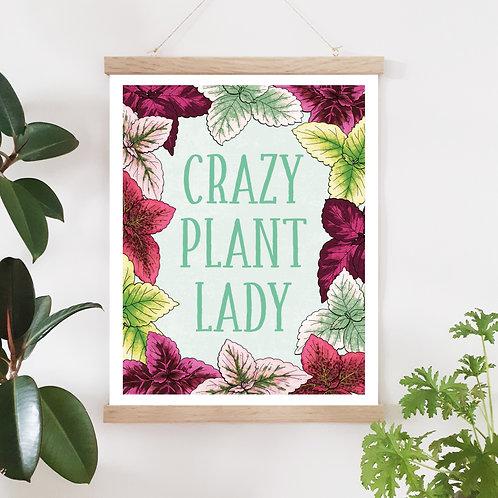 Plant lady/palett tant