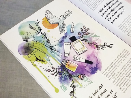 Illustration till Daisy Beauty Professional