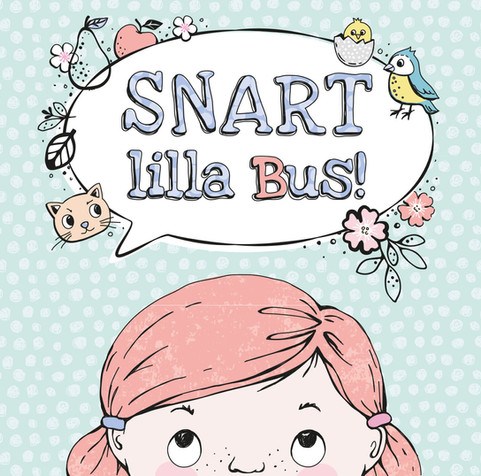 Snart lilla bus - framsida