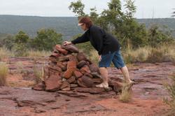 Adding rocks to the traveller's beacon
