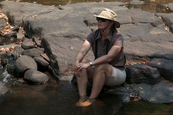 Cooling down in the Sterkstroom river