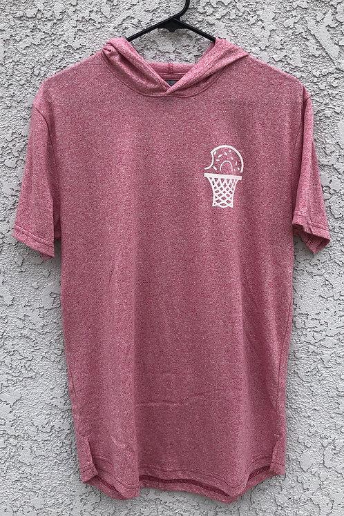 Donut Hoop Short Sleeve Hoodie