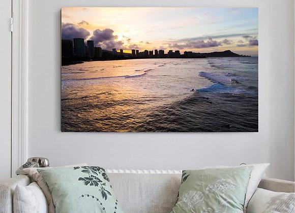 Hawaii Skies Canvas