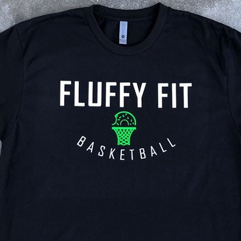 Fluffy Fit Basketball Tee