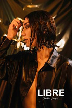 Elif for Yves Saint Laurent