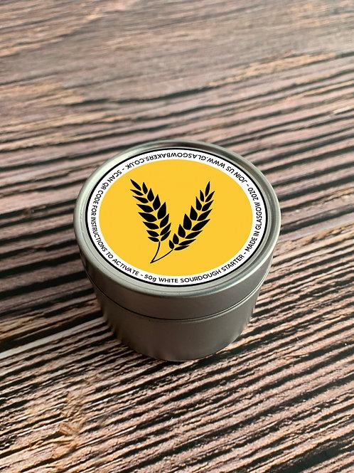 Organic White Sourdough Starter Tin