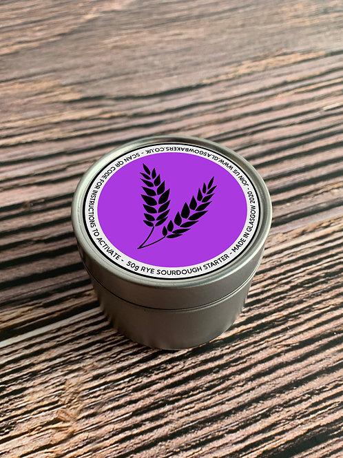 Glasgow Bakers - Organic Wholemeal Rye Sourdough Starter Tin