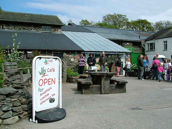 Wilf's cafe exterior