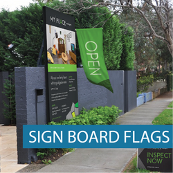 Icon - Real Estate - Sign Board Flags- WG-02