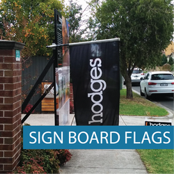 Icon - Real Estate - Sign Board Flags- WG-03