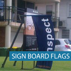 Icon - Real Estate - Sign Board Flags- WG-04