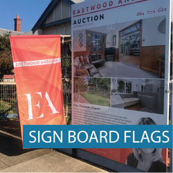 Icon - Real Estate - Sign Board Flags- WG-01