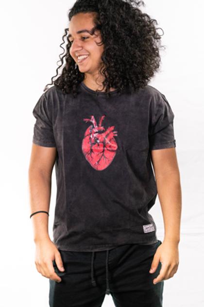 Camiseta Coração Unissex
