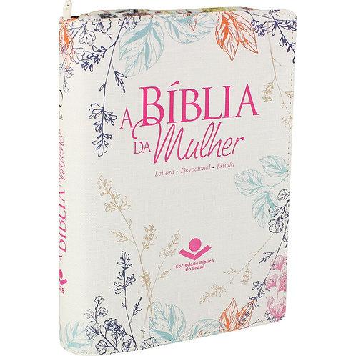 A BÍBLIA DA MULHER COM ZIPER