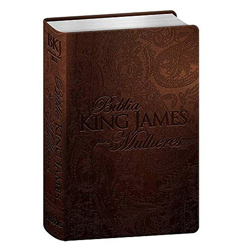 Bíblia King James Para Mulheres (marrom) BKJ 1611