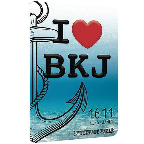 Bkj 1611 Ultrafina Lettering Bible - I Love Bkj 1611