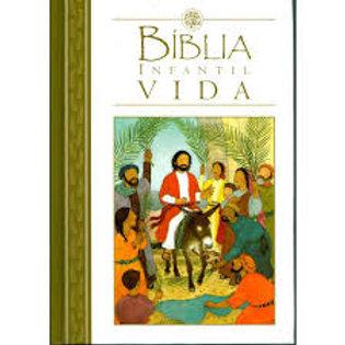 Biblia infantil vida ilustrada