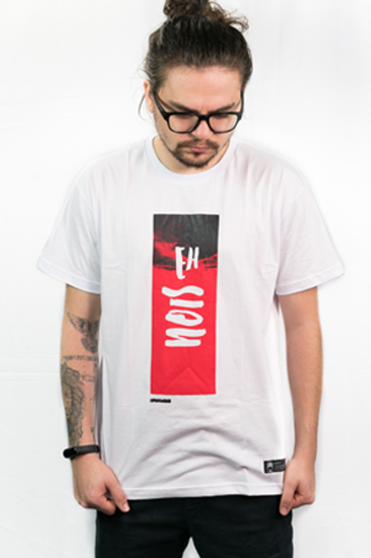 Camiseta EhNois Branca Masc.