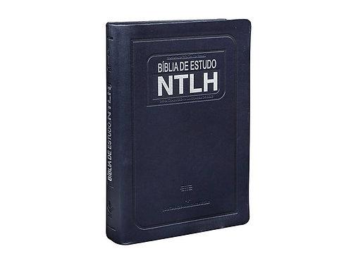 Bíblia de estudo NTLH - Azul