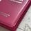 Thumbnail: Bíblia com harpa letra Hipergigante rosa