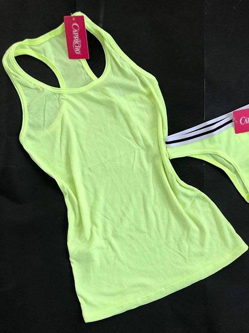 Camiseta Regata Nadador  Flúor Capricho