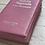 Thumbnail: Bíblia com harpa hipergigante rosa claro