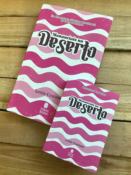 MANANCIAIS NO DESERTO (capa rosa) – Lettie Cowman