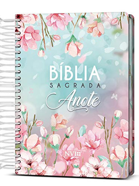 Bíblia Anote Nvi Espiral Magnolia