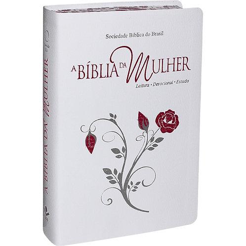 BÍBLIA DA MULHER BORDA ESTAMPAda GRANDE Almeida RA