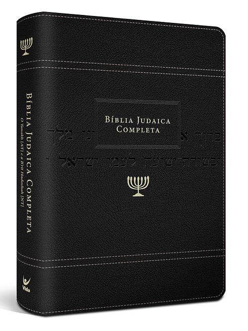 Bíblia Judaica Completa – capa onetone preta