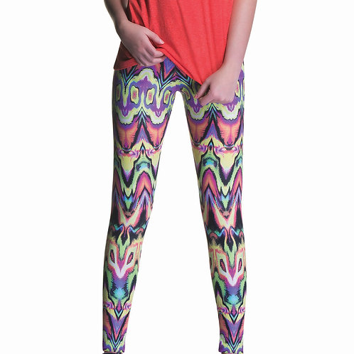 Legging Fitness Estampada Multi Marcyn