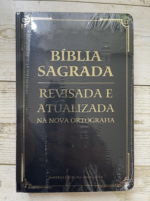 Bíblia sagrada revisada e atualizada gigante