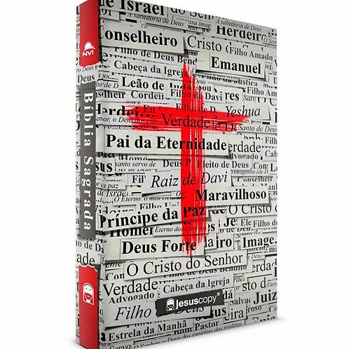 Bíblia Cruz - NVI Jesus Copy