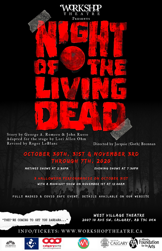 Night of the Living Dead 11x17 Poster -