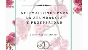 Afirmaciones para la Abundancia y prosperidad
