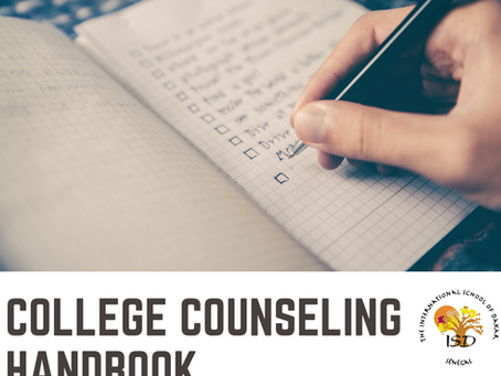 College Counseling Handbook