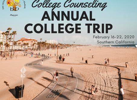 2019-20 ISD College Trip