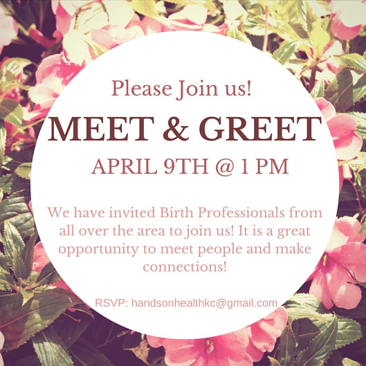 Join us for a Meet & Greet!